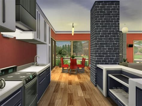 The Sims Resource: Modern Oasis - residential lot by Chemy
