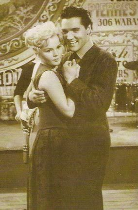 """Elvis Presley and Tuesday Weld in """"Wild in the Country"""""""