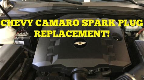 Chevy Camaro Spark plug DYI Replacement - YouTube