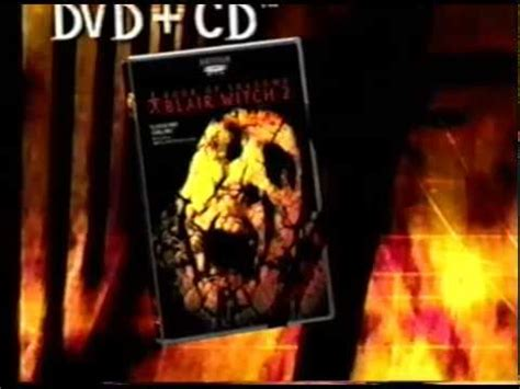 Book of Shadows - Blair Witch 2 - DVD+CD (2000) Promo (VHS