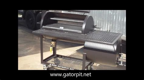 Backyard Classic by Gator Pit of Texas BBQ Pits - YouTube
