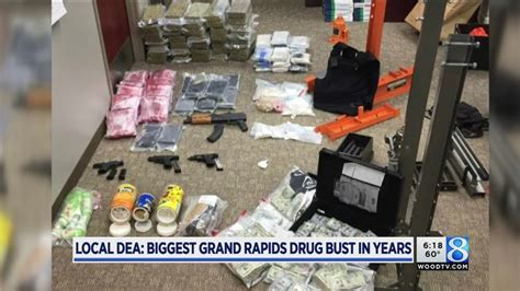 Local DEA: Biggest Grand Rapids drug bust in years - YouTube