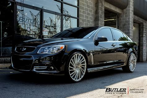 Chevrolet SS with 22in Lexani Wraith Wheels exclusively